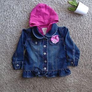 🍁Arizona Jean Jacket Size 18 Months